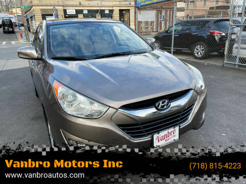 2011 Hyundai Tucson for sale at Vanbro Motors Inc in Staten Island NY