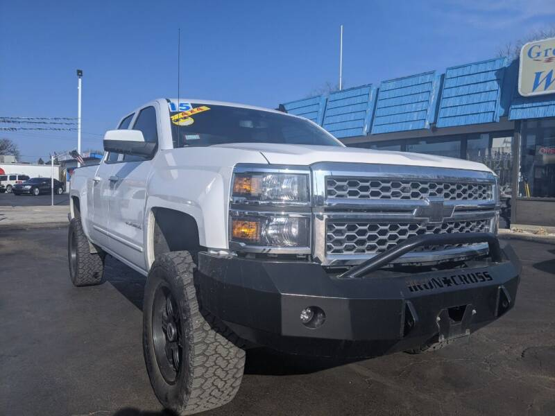 2015 Chevrolet Silverado 1500 for sale at GREAT DEALS ON WHEELS in Michigan City IN