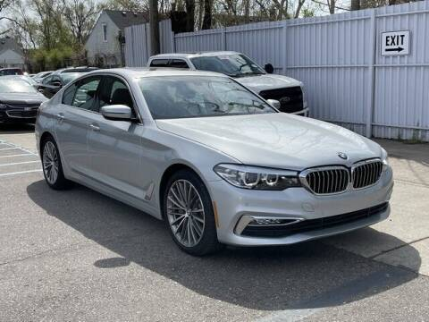 2017 BMW 5 Series for sale at SOUTHFIELD QUALITY CARS in Detroit MI