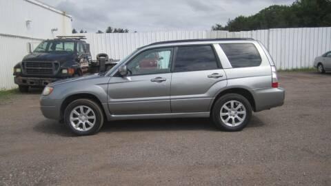 2007 Subaru Forester for sale at Superior Auto of Negaunee in Negaunee MI
