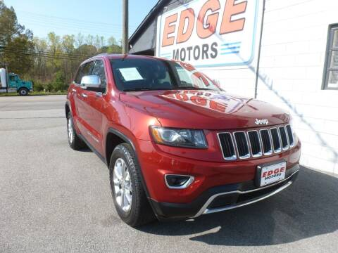 2014 Jeep Grand Cherokee for sale at Edge Motors in Mooresville NC