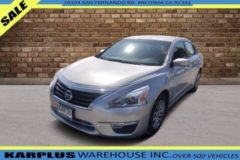 2015 Nissan Altima for sale at Karplus Warehouse in Pacoima CA