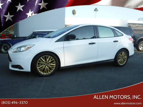 2012 Ford Focus for sale at Allen Motors, Inc. in Thousand Oaks CA