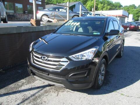 2016 Hyundai Santa Fe Sport for sale at WORKMAN AUTO INC in Pleasant Gap PA