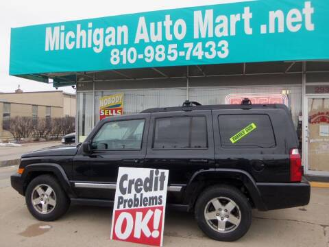 2010 Jeep Commander for sale at Michigan Auto Mart in Port Huron MI