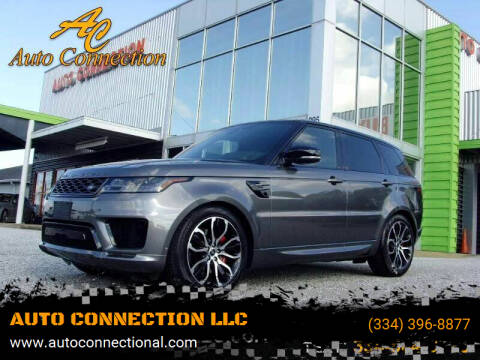 2019 Land Rover Range Rover Sport for sale at AUTO CONNECTION LLC in Montgomery AL