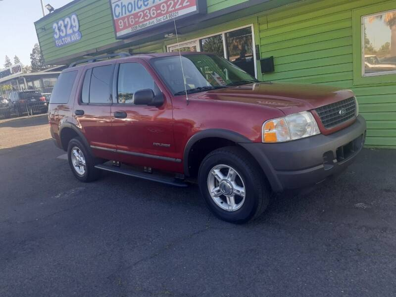 2004 Ford Explorer for sale at Amazing Choice Autos in Sacramento CA