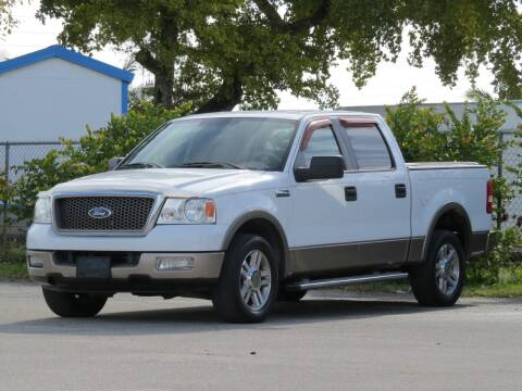2005 Ford F-150 for sale at DK Auto Sales in Hollywood FL