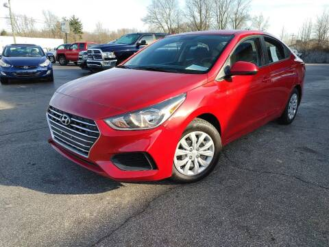 2019 Hyundai Accent for sale at Cruisin' Auto Sales in Madison IN
