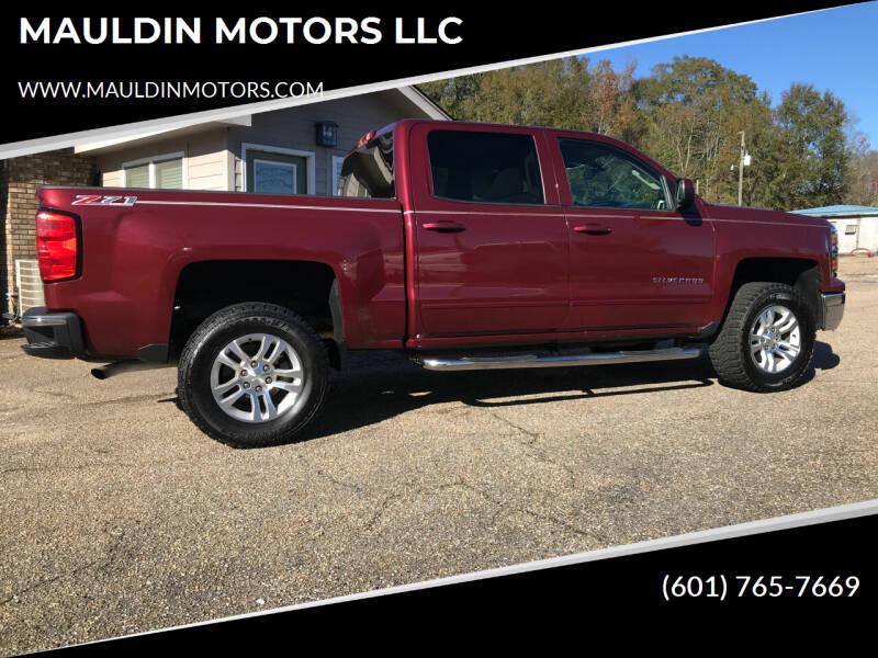 2015 Chevrolet Silverado 1500 for sale at MAULDIN MOTORS LLC in Sumrall MS