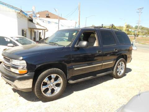 2005 Chevrolet Tahoe for sale at Mountain Auto in Jackson CA