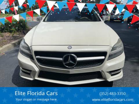 2013 Mercedes-Benz CLS for sale at Elite Florida Cars in Tavares FL