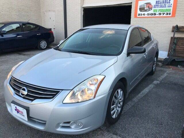 2010 Nissan Altima for sale at Reliable Auto Sales in Plano TX