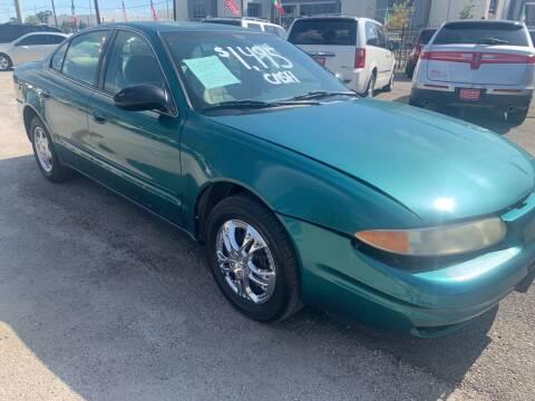 1999 Oldsmobile Alero for sale at FAIR DEAL AUTO SALES INC in Houston TX