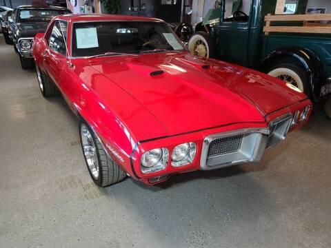 1969 Pontiac Firebird for sale at CRUZ'N MOTORS - Classics in Spirit Lake IA