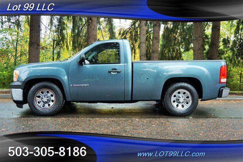 2008 GMC Sierra 1500 for sale at LOT 99 LLC in Milwaukie OR