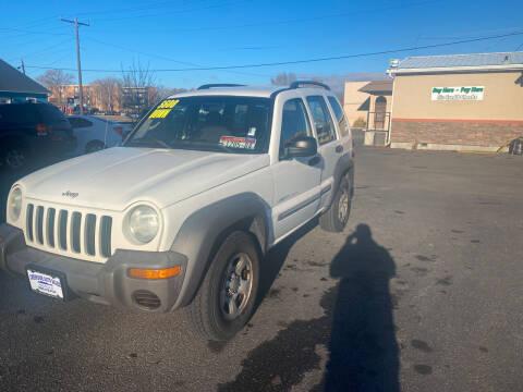2003 Jeep Liberty for sale at Creekside Auto Sales in Pocatello ID