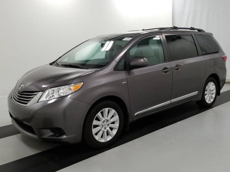 2016 Toyota Sienna for sale at SILVER ARROW AUTO SALES CORPORATION in Newark NJ