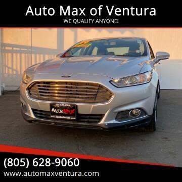 2014 Ford Fusion for sale at Auto Max of Ventura in Ventura CA