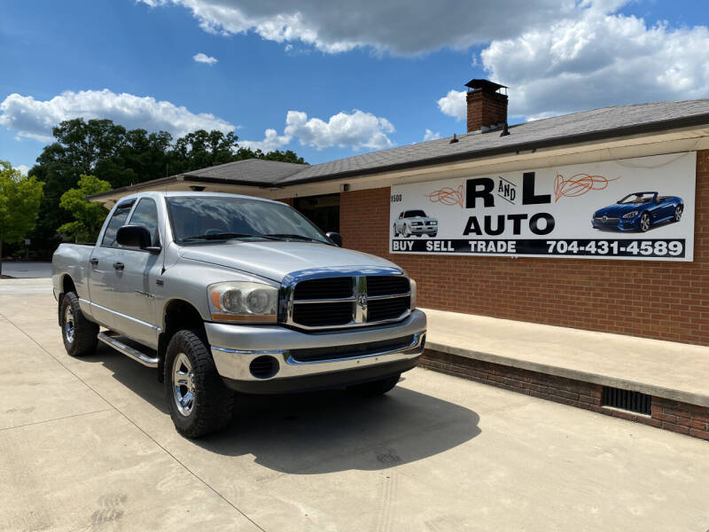 2006 Dodge Ram Pickup 1500 for sale at R & L Autos in Salisbury NC