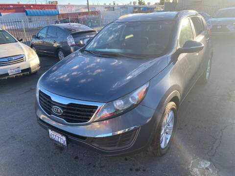 2011 Kia Sportage for sale at 101 Auto Sales in Sacramento CA