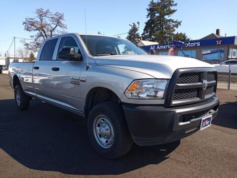 2017 RAM Ram Pickup 2500 for sale at All American Motors in Tacoma WA