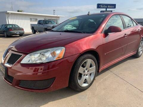 2010 Pontiac G6 for sale at Keller Motors in Palco KS