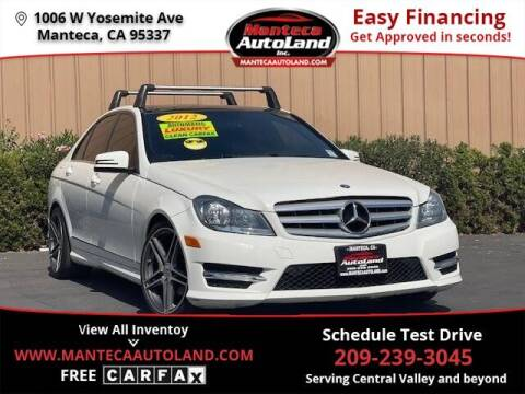 2012 Mercedes-Benz C-Class for sale at Manteca Auto Land in Manteca CA