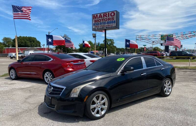 2013 Cadillac ATS for sale at Mario Motors in South Houston TX