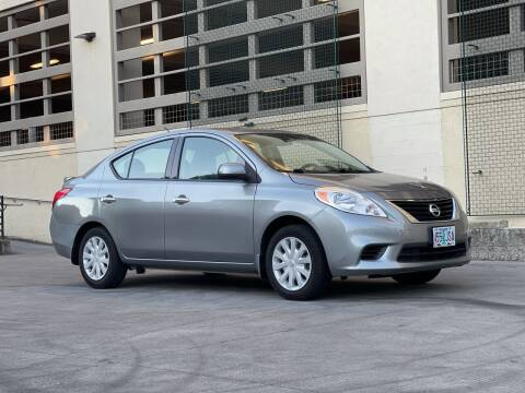 2014 Nissan Versa for sale at LANCASTER AUTO GROUP in Portland OR
