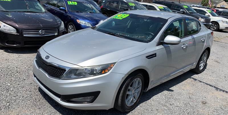 2012 Kia Optima for sale at Auto Mart - Dorchester in North Charleston SC