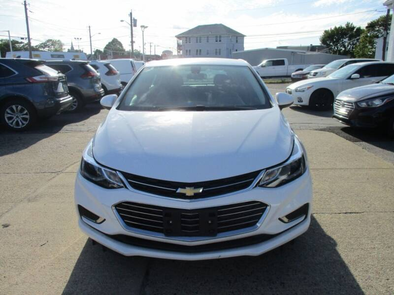 2018 Chevrolet Cruze for sale at AUTO FACTORY INC in East Providence RI