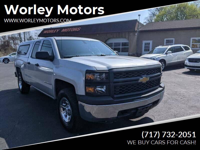 2014 Chevrolet Silverado 1500 for sale at Worley Motors in Enola PA