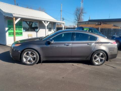 2009 Acura TL for sale at Auto Pro Inc in Fort Wayne IN