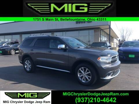 2014 Dodge Durango for sale at MIG Chrysler Dodge Jeep Ram in Bellefontaine OH