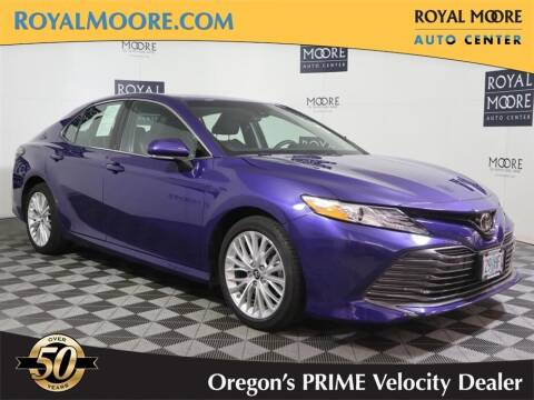 2018 Toyota Camry for sale at Royal Moore Custom Finance in Hillsboro OR