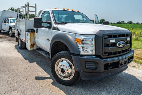 2012 Ford F-550 Super Duty for sale at Fruendly Auto Source in Moscow Mills MO