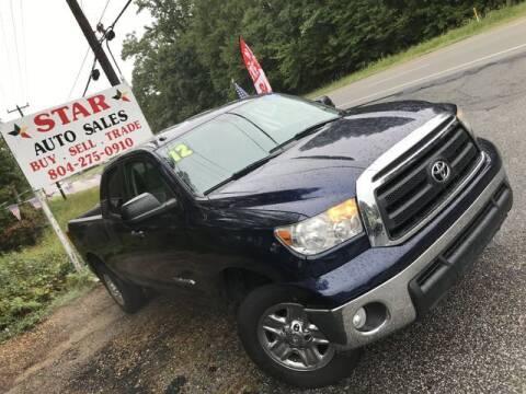 2012 Toyota Tundra for sale at Star Auto Sales in Richmond VA