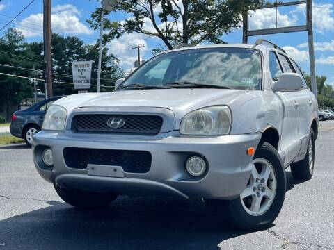 2003 Hyundai Santa Fe for sale at MAGIC AUTO SALES in Little Ferry NJ