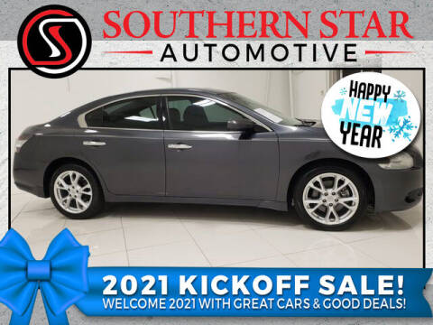 2013 Nissan Maxima for sale at Southern Star Automotive, Inc. in Duluth GA