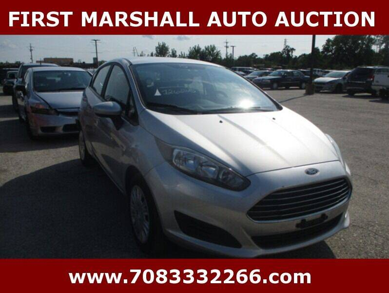 2015 Ford Fiesta for sale at First Marshall Auto Auction in Harvey IL