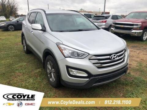2015 Hyundai Santa Fe Sport for sale at COYLE GM - COYLE NISSAN - New Inventory in Clarksville IN