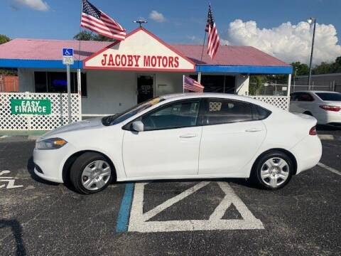 2014 Dodge Dart for sale at Jacoby Motors in Fort Myers FL