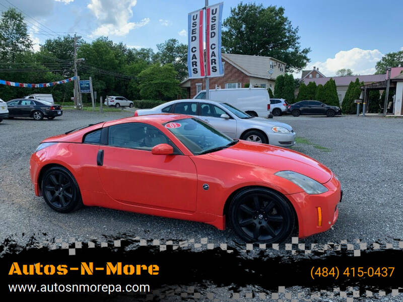 2003 Nissan 350Z for sale at Autos-N-More in Gilbertsville PA