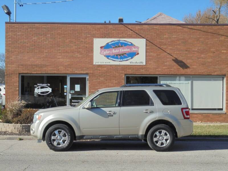 2010 Ford Escape for sale at Eyler Auto Center Inc. in Rushville IL