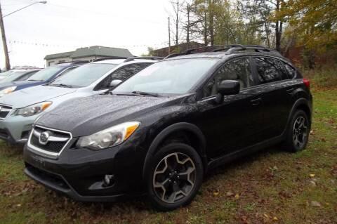 2013 Subaru XV Crosstrek for sale at Warner's Auto Body of Granville Inc in Granville NY