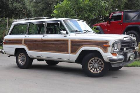 1987 Jeep Grand Wagoneer for sale at SELECT JEEPS INC in League City TX