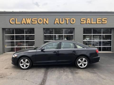 2012 Audi A6 for sale at Clawson Auto Sales in Clawson MI