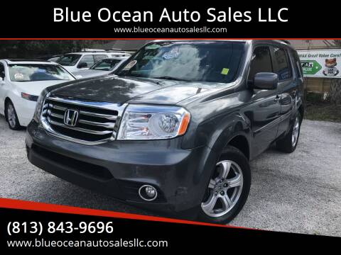 2012 Honda Pilot for sale at Blue Ocean Auto Sales LLC in Tampa FL