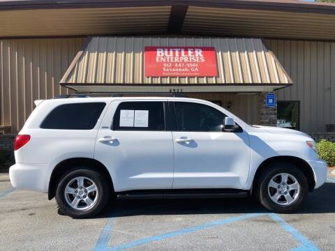 2013 Toyota Sequoia for sale at Butler Enterprises in Savannah GA